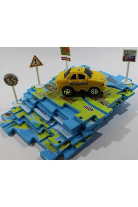 Управляемые пазлы Amewi Такси арт. 100555