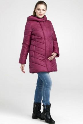 Куртка зимняя 2в1 для беременных Modress Angela винная