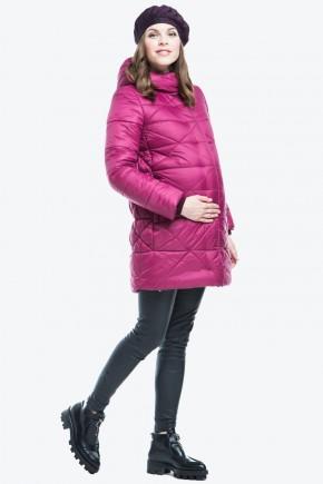 Куртка зимняя 2в1 для беременных Modress Lisa бордо