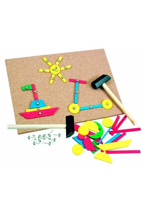 Игровой набор с молоточком Bino арт. 82188