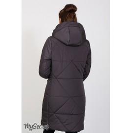 Зимнее теплое пальто для беременных и кормящих Юла Мама Angie арт. OW-47.041
