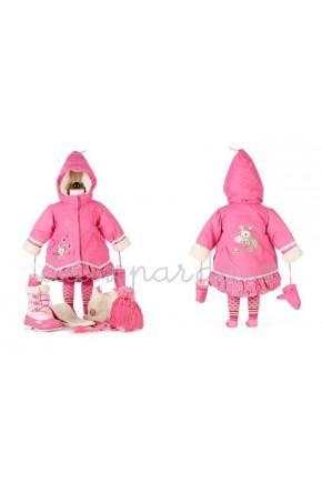 Зимнее пальто Deux par Deux A905 для девочек