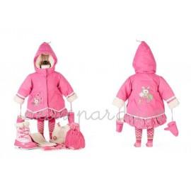 Зимнее пальто Deux par Deux A905/642 для девочек
