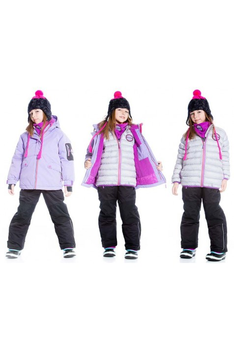 Зимний комплект Deux par Deux I824-521 для девочек