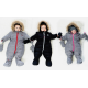 Зимний комбинезон Deux par Deux W50 для малышей