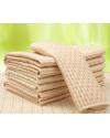 Непромокаемая многоразовая пеленка органический хлопок + бамбук двухсторонняя 50 * 70