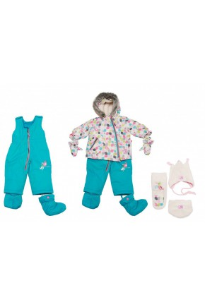 Зимний комплект Deux par Deux A500-581 для малышей