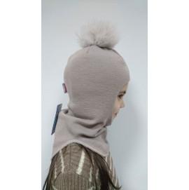 Шлем зимний для девочки Beezy арт.1521