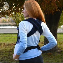 Эрго рюкзак Nash sling Optima - Сапфир т.синий