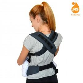Эрго рюкзак Nash sling Optima - Графит т.серый