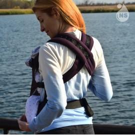Эрго рюкзак Nash sling Optima - Монро т.сливовый