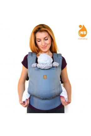Эрго рюкзак Nash sling Optima - Манхеттен серый