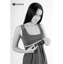 Ночная рубашка для беременных и кормящих ZNANA Lace арт. 039-38