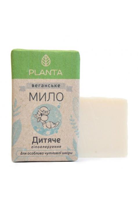 Детское мыло Planta льняное 100 гр
