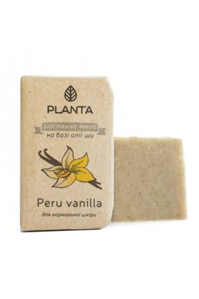 Мыло Planta Peru vanilla с маслом Ши