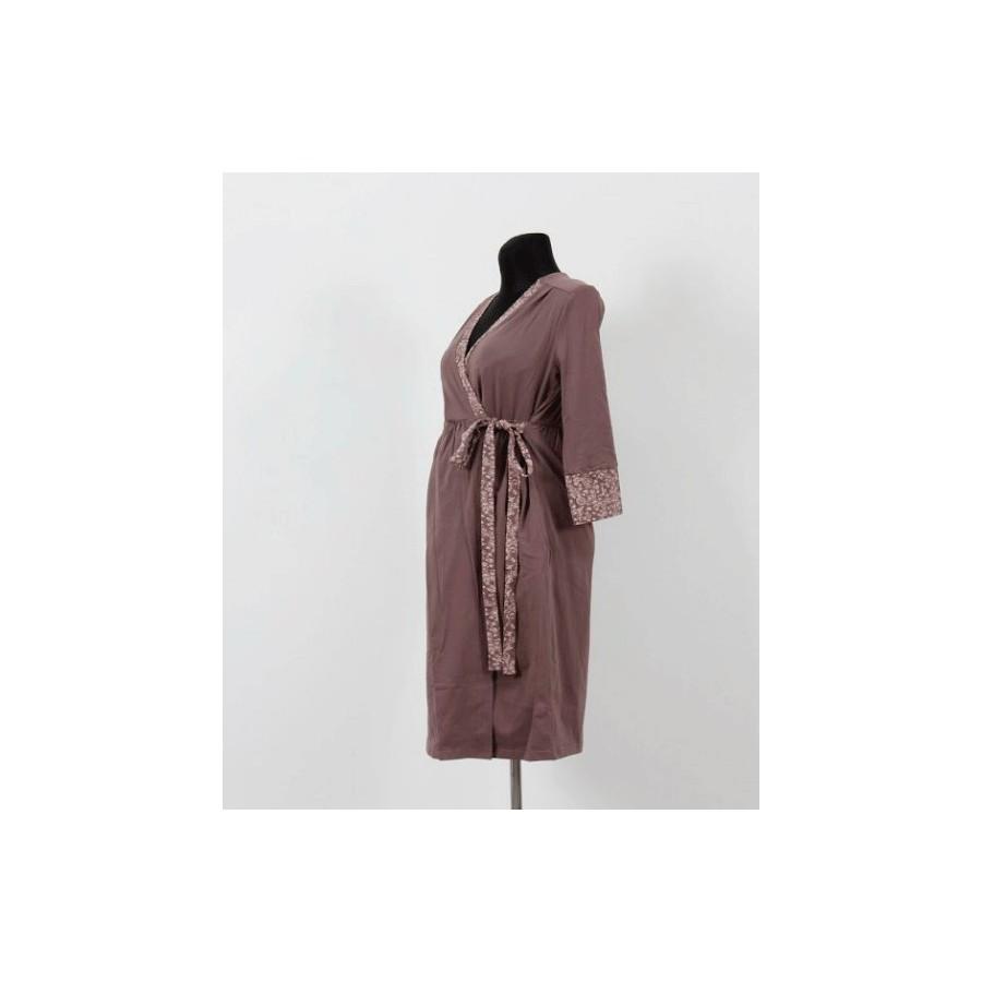 Халат для Беременных и Кормящих Mamma Lux арт. 905 Шоколадный ... aa3459edf68