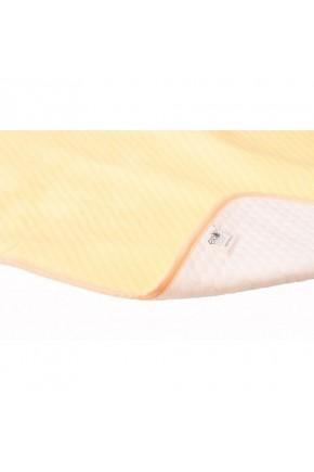 Непромокаемая двусторонняя детская пеленка Эко Пупс Eco Cotton хлопок Зоопарк