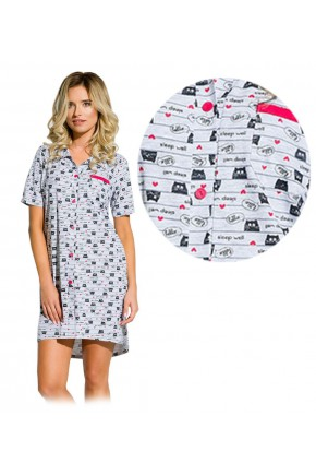 Ночная рубашка для беременных и кормящих Taro Dalia арт. 2139/02