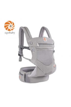 Эрго рюкзак Ergo baby 360 с сеткой Светло Серый