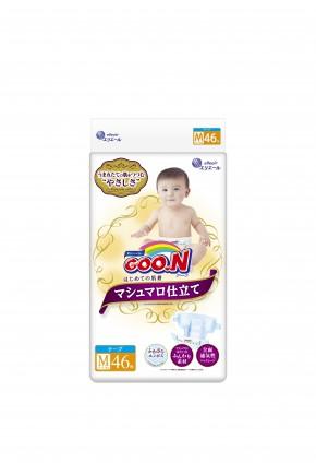 Подгузники для детей Goo.N Super Premium унисекс 6-11 кг 46 шт