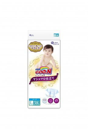 Подгузники для детей Goo.N Super Premium унисекс 9-14 кг 38 шт