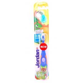 Зубная щетка молочных зубов Jordan 3-5 лет с держателем