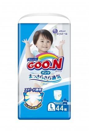 Подгузники для мальчиков Goo.N 9-14 кг 44 шт