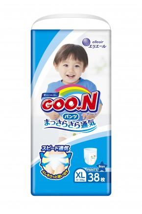 Трусики - подгузники для мальчиков Goo.N 12-20 кг 98 шт