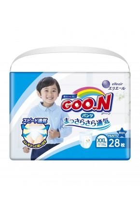 Трусики - подгузники для мальчиков Goo.N 13-25 кг 28 шт