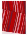 Термоколготки детские Groedo 74071 красный в полоску