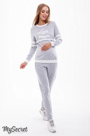 Спортивные брюки для беременных Юла Mama Benji SP-38.022