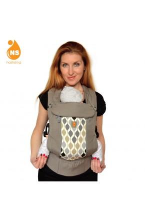Эрго-рюкзак с вентиляционной сеткой Nashsling Climate Control - Уно