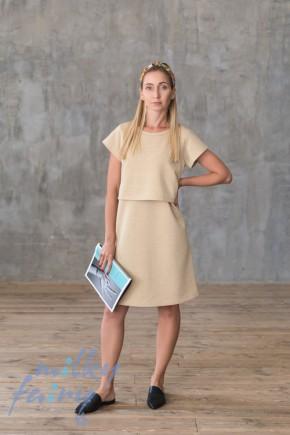 Платье для кормящих Milky Fairy золото