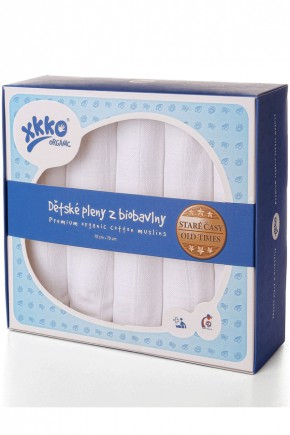 Муслиновые пеленки органические XKKO Natural 90х100