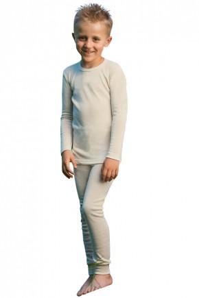 Кофта детская Engel из шерсти мериноса бежевая