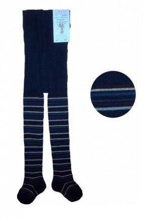 Термоколготки детские Groedo 74071 синий в полоску