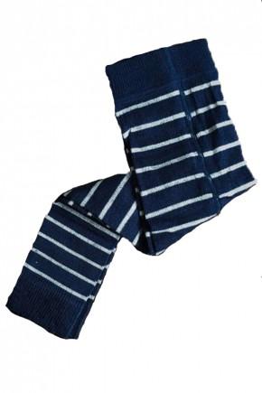 Термолеггинсы детские Groedo 74081 синий в полоску