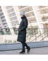 Зимняя слингокуртка 3в1 для беременных и слингоношения Love & Carry блек