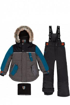 Зимний комплект для мальчика Deux par Deux Q820/999