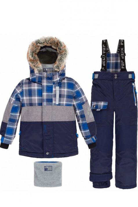 Зимний комплект для мальчика Deux par Deux S818/481
