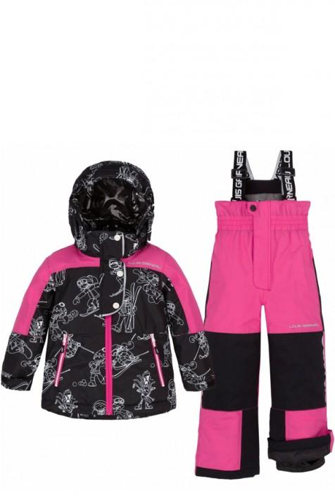 Термокостюм для девочки Deux par Deux LG151/644