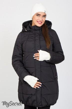 Зимняя куртка для беременных Юла Mama Jena OW-46.091 черная