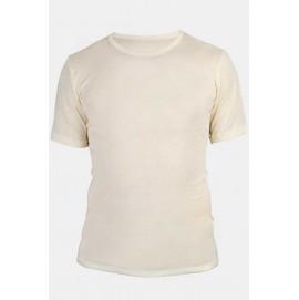 Чоловіча футболка Engel з вовни та шовку бежева