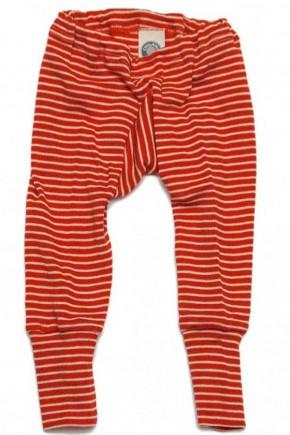 Штанці шерсть/шовк, червона смужка, Cosilana