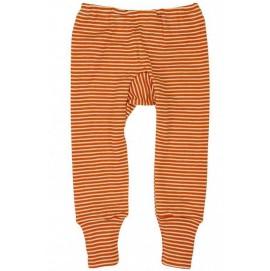 Штанці шерсть/шовк, помаранчева смужка, Cosilana