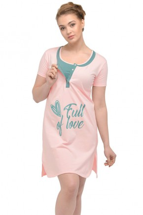 Ночная Рубашка для Беременных Мамин Дом 24167 Clover