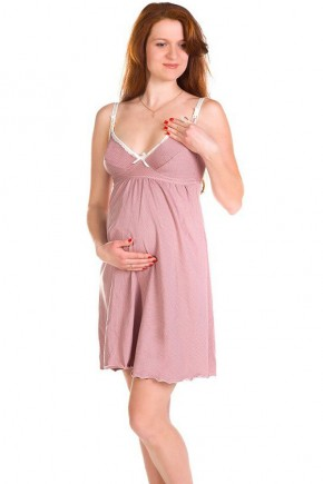 Ночная рубашка для беременных или кормящих Mamma Lux арт. 804