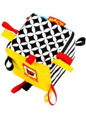 Игрушка-погремушка для детей Масик B&W