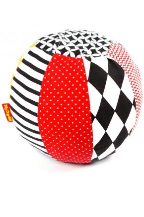 Игрушка-погремушка для детей мячик Масик B&W