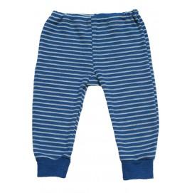 Штаны детские Hocosa из мериносовой шерсти голубая полоска